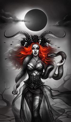 Lilith by AnnaGabrie on DeviantArt