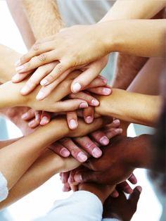 wir gehören alle zu einer Sorte, wir sind alle Menschen. Egal welche Hautfarbe wir haben