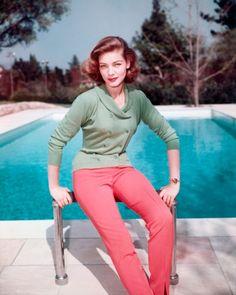 I<3 her!  Lauren Becall (1950s) | The Vanity Fair International Best-Dressed List's Hall of Fame