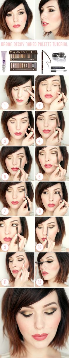 keiko lynn: Makeup Monday: Urban Decay Naked Palette Tutorial