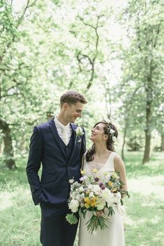 Bride and groom from an Elegant Wedding at Pembroke Lodge | Photography by http://www.kat-hill.com/