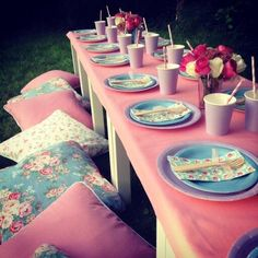 Cath Kidston tea party- it would go great with the theme of my birthday party!