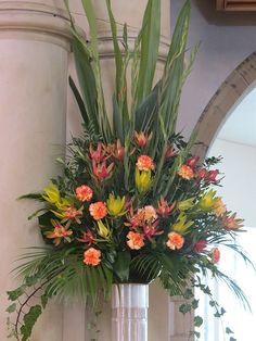 Church Floral Arrangement