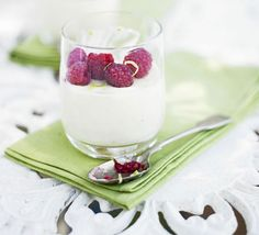 Lime possets with raspberries [25.01.2014]