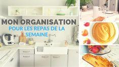 Mon organisation pour les repas en semaine - Thermomix - Food prep Batch Cooking, Organization, Kitchens, Management