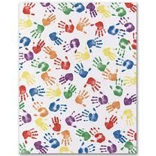 daycare hands! For all the kids that graduate!