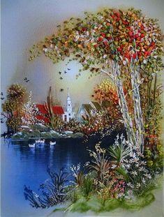 Gallery.ru / Фото #36 - Картины лентами - mara19-10