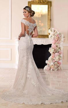 Bride to Be Reading ~ Can you imagine yourself walking down the aisle in this Stella York - 6249?                                                                                                                                                                                  More