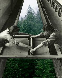 The surrealist collages by Merve Ozaslan are based on the relation between nature and the humanity. The result is really awesome, below some of my fave works! Photomontage, Collage Foto, Collage Artwork, Poster Collage, Collage Frames, Surrealist Collage, Art Abstrait, Mixed Media Collage, Surreal Art