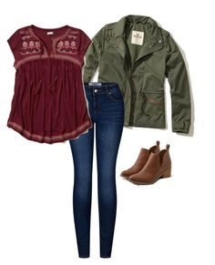 """Untitled #40"" by fia2002 on Polyvore featuring Hollister Co., 2LUV and American Eagle Outfitters"