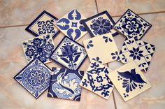 ✔ About 12 Mexican tiles ____________________________________________________  This wonderful handcrafted tile lot consists of 12 4x4 tiles Exactly as the picture!! You can use Mexican tiles for kitchen backsplashes, stair risers, wall décor and bathroom showers. They have glazed surface making them water resistant. Add a special touch to any area or project with these unique beautiful Mexican tiles.  Size: 4 x4 inch  -You can choose the same design or you can choose any other design that…