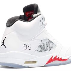 on sale cc5d8 43cab Nike air jordan retro 5 supreme  fashion  clothing  shoes  accessories   mensshoes  athleticshoes (ebay link)