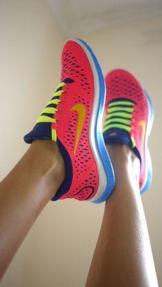 Simple Nike Tennis Shoes Ballistec Advantage Women Pink Neon Yellow Shoes