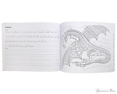 The Art of Cursive Coloring Book