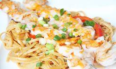 Bang Bang Shrimp Pasta - so so good!!!