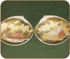 Kaiawase are painted clam shells used for a shell matching .