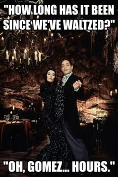 Morticia and Gomez Addams - waltz