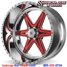 American Force Evade FP6 Wheels & Rims. This is a removable aluminum face plate you can customize to any color!