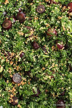 Chopped Kale & Quinoa Salad (v/gf)