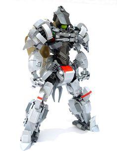 Ixia the knight mech.   by chubbybots