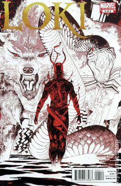 Loki (2010 2nd Series Marvel) 4 Marvel Comics Modern Age Comic book covers Super Heroes Villians