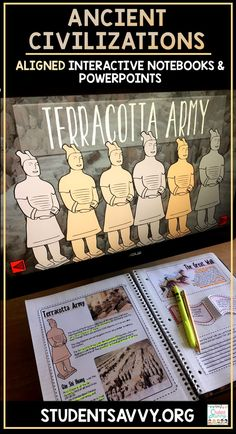 Ancient History / Civilizations Aligned Interactive Notebooks and Powerpoints! Quite the virtual and interactive experience for students! Ancient Mesopotamia Egypt Israel India China Greece and Rome World History Classroom, World History Teaching, Ancient World History, World History Lessons, Study History, History Teachers, Nasa History, World History Projects, Rome History