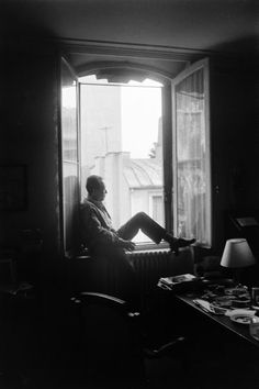 Albert Camus. Photography by Loomis Dean courtesy of Life Magazine. I cannot resist a photo of Camus, impossible to find a bad picture of him.