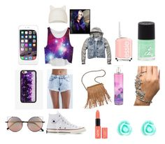 """""""Cute 2"""" by disneygirlfaith on Polyvore featuring Bullhead Denim Co., Abercrombie & Fitch, Converse, Patchington, Wildflower, Linda Farrow, Topshop, Essie, Rimmel and Monsoon"""