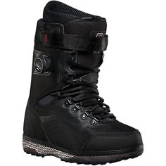 Vans - Infuse Boa Snowboard Boot - Men's - Pat Moore - Black