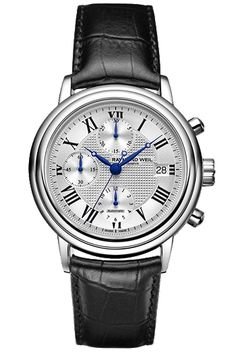 Raymond Weil Maestro Automatic Chronograph from Tourneau #Tourneau #RaymondWeil #Watch