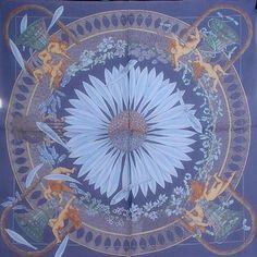 luxury-scarves.com 'Amours', Annie Faivre. 1999