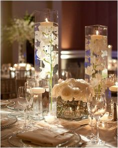 Ideas Wedding Reception Decorations Centerpieces Floating Candles For 2019 Mod Wedding, Chic Wedding, Dream Wedding, Wedding Ideas, Trendy Wedding, Wedding Ceremony, Wedding Venues, Wedding Planning, Marriage Reception