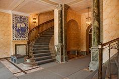 Treppenaufgang im Schloss Belvedere
