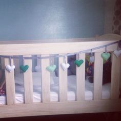 stuffed heart bunting. Order at www.for-example.co.za