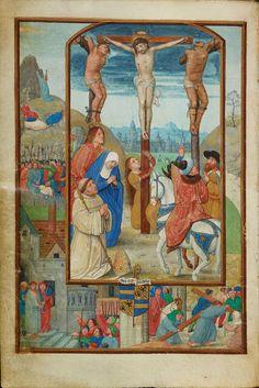 Benedictional of Robert de Clercq - Simon Bening - Wikipedia, the free encyclopedia. Benedictional of Robert de Clercq: Crucifixion, f. 4v, Cambridge University Library, Cambridge. c. 1519-29.