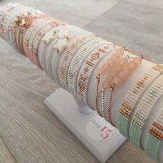 Beads-armbandje 'Ibiza Dreams' - Mint15