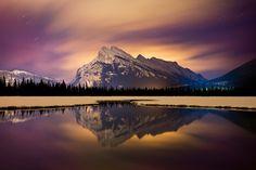 Landscape | Paul Zizka Photography | mountain landscape and adventure photographer in Banff, Alberta. Mount Rundle Afire!