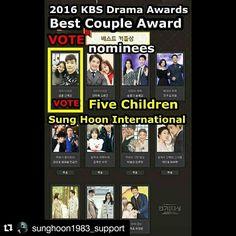 Pls Vote for Sung Hoon  How to vote details pls go to below link Thank U very much    ...    https://www.instagram.com/p/BNpZtX6jG5j/