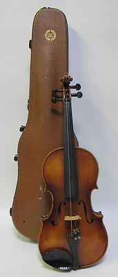 Vintage 1963 Scherl & Roth Hand Made Copy of Stradivarius W Bow & Case Nice! yqz