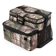Arctic Zone RealTree 16(12+4) Can Zipperless Cooler. For product info go to:  https://all4hiking.com/products/arctic-zone-realtree-16124-can-zipperless-cooler/