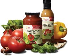 Miracle Harvest™ product brand to benefit Children's Miracle Network Hospitals, design and branding by Miller Creative.