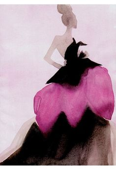 Chic fashion illustration by Mats Gustavson. From Vogue China December 2010. Via B for Bonnie. lauriekaiser