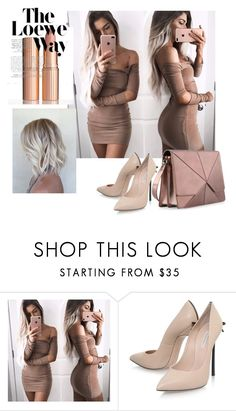 """""""Bez naslova #157"""" by selma-masic1 ❤ liked on Polyvore featuring Casadei and Loewe"""