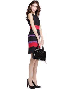 Aliexpress.com : Buy ElaCentelha Luxury Women Dress Summer Striped Contarst Color Dress Casual Sleeveless Knee Length Dress Women's Plus Size Dresses from Reliable dress cocktail dress suppliers on ElaCentelha    Alibaba Group