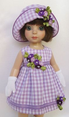 "PATSY'S SUMMER-SUNDAY BEST!  FOR 10""ANN ESTELLE, ETC.MADE BY SSDESIGNS"