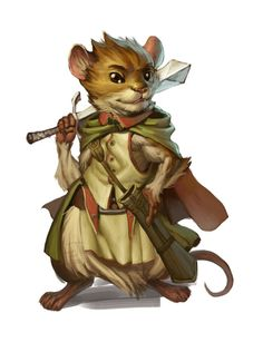 Redwall Warrior Mouse.