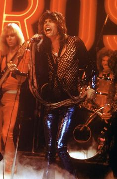The boys performing on the Midnight Special The Midnight Special, Liv Tyler 90s, Steven Tyler Aerosmith, Elevator Music, Joe Perry, Rocker Chick, Johnny Depp, Rock Music, Bad Boys