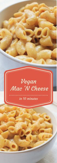 Our Best Vegan Recipes: Vegan Mac 'N Cheese