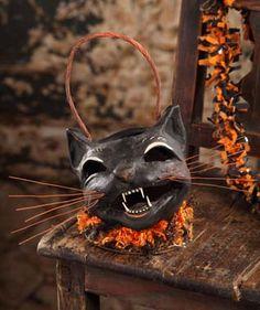 Hissing Black Cat Bucket 2012