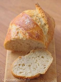 Cooking Bread, Batch Cooking, Baguette, Pain Artisanal, Bread Recipes, Cooking Recipes, Mango Dessert Recipes, Easy Bread, Caribbean Recipes